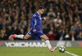"""Džiugios naujienos """"Chelsea"""" fanams - E.Hazardas patvirtino pasirašysiąs naują sutartį"""