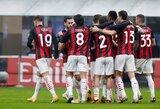 """""""Milan"""" klubas 92-ąją minutę išplėšė pergalę prieš """"Lazio"""""""
