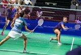 Badmintono turnyre Islandijoje G.Voitechovskaja krito aštuntfinalyje