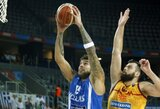 Graikijos komanda sutriuškino makedonus
