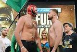 Su kauke svėrimuose pasirodęs T.Fury buvo lengvesnis, nei kovoje su D.Wilderiu