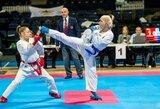 Olimpinės karatė turnyre Stambule abu lietuviai šventė po pergalę