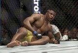 """UFC kovotojas: """"F.Ngannou mažiausiai 40 metų"""""""