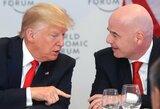 """FIFA prezidentas G.Infantino tiki JAV perspektyva: """"Tai gali būti nauja didelė jėga futbolo pasaulyje"""""""