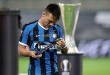 """""""Inter"""" sporto direktorius: L.Martinezas parduotas nebus"""