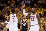 """Paaiškėjo, kodėl """"Cavaliers"""" nori """"sausai"""" laimėti seriją prieš """"Raptors"""""""