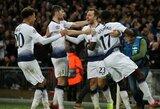 """Čempionų lyga: """"Tottenham"""" rungtynių pabaigoje palaužė """"Inter"""" ir išsaugojo viltis žengti į kitą etapą"""