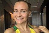 """Maratono Vilniuje rekordininkė V.Žūsinaitė: bėgti """"namų"""" maratoną visuomet lengviau"""