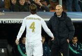 Z.Zidane'as pripažino, kad komandą veikia S.Ramoso situacija