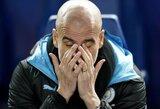 """P.Guardiola: """"Nemaniau, kad per kelis metus taip atsiplėšime nuo """"Manchester United"""""""