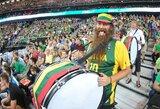 Lietuvos rinktinės sirgaliai buria pajėgas Europos čempionato kovoms