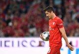 """Dviejų R.Lewandowskio įvarčių nepakako: """"Bayern"""" sezoną Vokietijoje pradėjo lygiosiomis"""