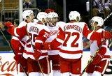 """""""Red Wings"""" pergalę lėmė grubi """"Rangers"""" vartininko H.Lundqvisto klaida"""