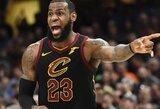 """Trenerio sugrįžimą """"Cavaliers"""" pažymėjo L.Jameso šou ir pergale panaikinus didelį deficitą"""