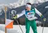 Europos orientavimosi sporto slidėmis čempionate V.Petrulis vėl buvo greičiausias tarp lietuvių
