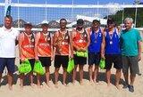Kurčiųjų paplūdimio tinklinio čempionate dominavo vilniečiai ir kaunietės