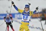 Pasaulio biatlono taurės estafetėje – puikus V.Strolios pasirodymas ir su įtampa nesusitvarkęs D.Demkovas
