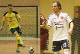 Prieš LFF Futsal taurės finalą – kovingas lyderių nusiteikimas