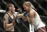 """""""UFC 222"""" kovotojų algos: C.Cyborg uždirbo penkiskart daugiau nei J.Kunickaja"""