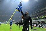 """Po įspūdingo Milano derbio R.Lukaku trykšta optimizmu: """"Esu čia tam, kad laimėčiau"""""""