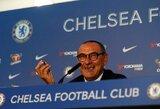 """Prie """"Chelsea"""" prisijungęs M.Sarri mano, kad šis perėjimų langas yra nuobodus"""