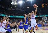 NBA žaidėjų vedami kroatai šventė antrąją pergalę