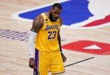"""Trečiąkart laimėjusi """"Lakers"""" priartėjo prie NBA titulo"""