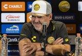 """D.Maradona sukritikavo Argentinos rinktinę: """"Dabar mus įveiktų net Tongos sala"""""""