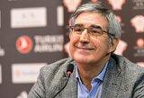 """J.Bertomeu: """"Panathinaikos"""" yra įtraukta kitam Eurolygos sezonui"""""""