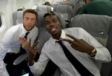 """C.Marchisio ragina P.Pogbą sugrįžti į """"Juventus"""": """"Sakiau jam, kad sprendimas keltis į """"Manchester United"""" yra blogas"""""""