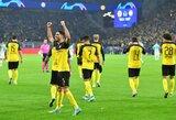 """Čempionų lyga: dviejų įvarčių atsilikimą panaikinusi """"Borussia"""" įspūdingai nukovė """"Inter"""""""