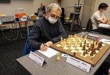 Šachmatų čempionato starte – laukti sugrįžimai