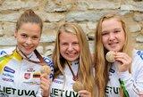 Lietuvos orientavimosi sporto kalnų dviračiais jaunimo merginų komandai – bronzos medaliai!