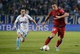 """PSG ir """"Marseille"""" klubai sužaidė lygiosiomis"""