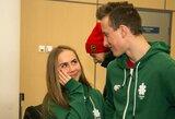 Į Sarajevą išvyko 11 Lietuvos sportininkų, dėl traumos namuose liko dailiojo čiuožimo atstovė P.Ramanauskaitė