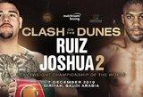 Aiškėja, kas priviliojo A.Joshua ir A.Ruizą revanšinę kovą daryti Saudo Arabijoje