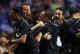 """F.Lampardas debiutavo kaip treneris: """"Derby County"""" išplėšė pergalę paskutinėmis rungtynių akimirkomis"""