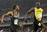 Sezono rezultatą pagerinęs U.Boltas su greičiausiu laiku pateko į finalą, J.Gatlinas liko už borto