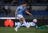 """""""Lazio"""" palaidojo """"Inter"""" viltis žaisti Čempionų lygoje"""