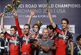 Pasaulio plento dviračių čempionato starte R.Navardausko komanda – 12-a