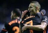 """Ispanijos """"La Liga"""": sunkias pergales iškovojo """"Valencia"""" bei """"Athletic"""", """"Atletico"""" sutriuškino """"Sevilla"""""""