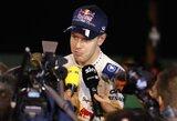 S.Vettelis tikina galėjęs iškovoti pole poziciją