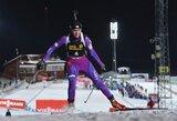 Pasaulio biatlono taurės etape D.Rasimovičiūtė penktadienį finišavo 49-a