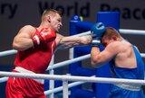 """Skaudžias pamokas išmokęs A.Baniulis: """"Lietuvos boksas turės savo atstovą Tokijo olimpinėse žaidynėse"""""""