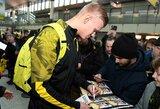 """E.Haalandas atskleidė, kodėl pasirinko """"Borussia"""", o ne """"Man Utd"""""""