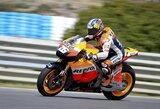 Antrojoje Ispanijos motociklų GP bandymų sesijoje greičiausias buvo D.Pedrosa