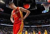"""A.Karnišovas: """"Rockets"""" teigiamai vertina Motiejūno debiutą, o jo vaidmuo kitą sezoną turėtų būti dar svarbesnis"""