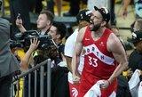 Pamatykite: NBA čempionų džiaugsmas, jaudinančios M.Gasolio emocijos ir Drake'o emocijų proveržis