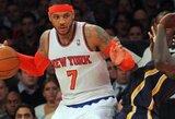 """Ph.Jacksono atvykimą į Niujorką """"Knicks"""" pažymėjo pergale prieš Rytų konferencijos lyderius"""