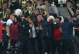 """""""Besiktas"""" boikotavo Turkijos taurės pusfinalį ir gavo techninį pralaimėjimą"""